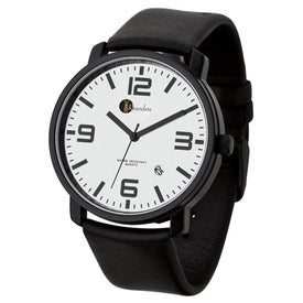 Men's Watch with Genuine Leather Straps