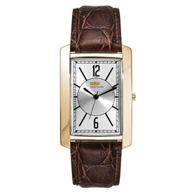 Gold Finish Men's Watch