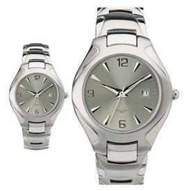 Branded Scratch Resistant Men's Watch Bracelet Style
