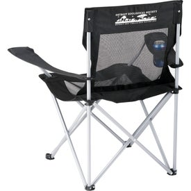 Mesh Camping Chair Branded with Your Logo
