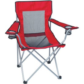 Company Mesh Folding Chair with Carrying Bag