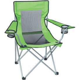 Mesh Folding Chair with Carrying Bag for Your Company