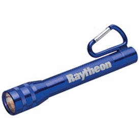 Monogrammed Metal Carabiner Flashlight