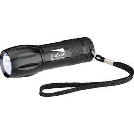 Metal LED Flashlight Imprinted with Your Logo