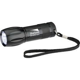 Customizable Metal LED Flashlight Imprinted with Your Logo