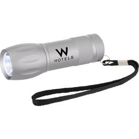 Advertising Customizable Metal LED Flashlight