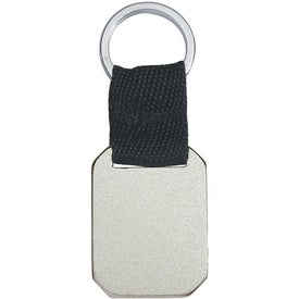 Branded Metal Key Tag