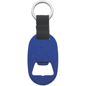Company Metal Key Tag with Bottle Opener