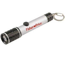 Custom Metal keychain flashlight