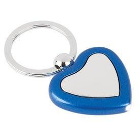 Metal Light Key Tag Imprinted with Your Logo