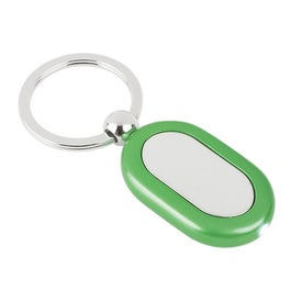Printed Metal Light Key Tag