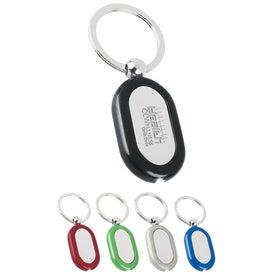 Metal Light Key Tag