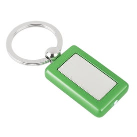 Metal Light Key Tag for your School