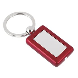 Metal Light Key Tag with Your Slogan
