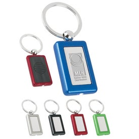 Metal Light Key Tag