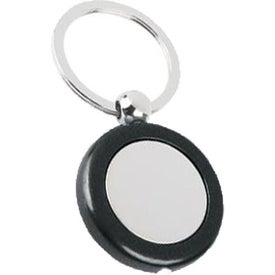 Promotional Metal Light Key Tag