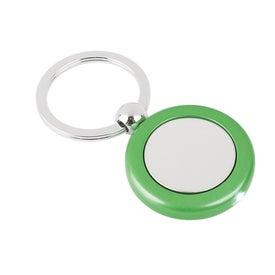 Personalized Metal Light Key Tag