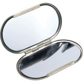 Metal Oval Compact Mirror for Marketing