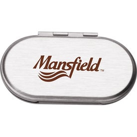 Metal Oval Compact Mirror for Your Company
