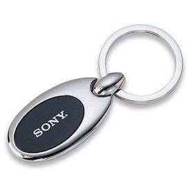 Metal Oval Key Holder