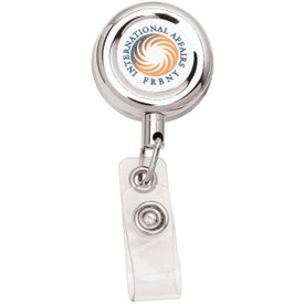 Metal Retractable Badge Holder for Promotion