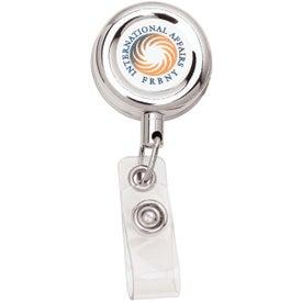 Metal Retractable Badge Holder