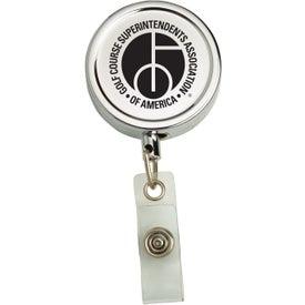 Metal Secure-A-Badge Holder
