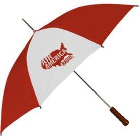 Metal Shaft Sport Umbrella for Advertising