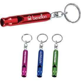 Metal Whistle/Key Ring