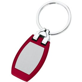 Branded Customizable Metal Key Tag