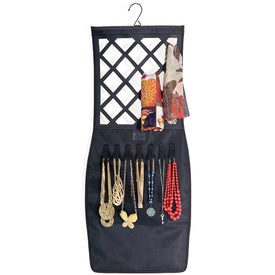 Personalized Mia Little Black Pencil Skirt Accessory Organizer