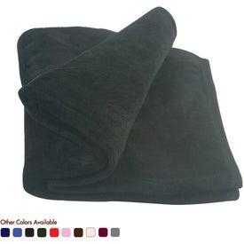 Imprinted Micro Coral Fleece Blanket