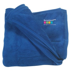Micro Coral Fleece Blanket with Your Slogan