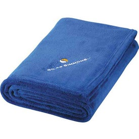 Micro Coral Plush Blanket with Your Logo