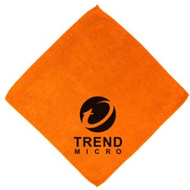Micro Fiber Wash Cloth Imprinted with Your Logo