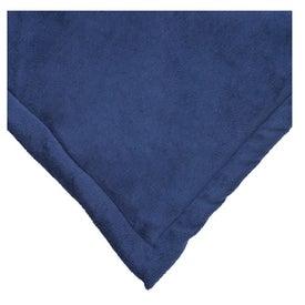 Monogrammed Micro Mink Blanket