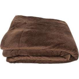 Micro Mink Sherpa Blankets Printed with Your Logo