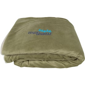 Micro Mink Sherpa Blankets for Marketing