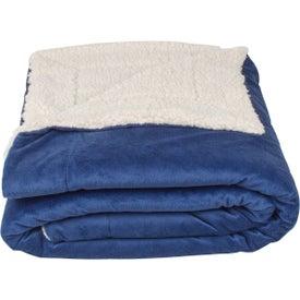 Imprinted Micro Mink Sherpa Blankets