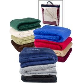 Micro Mink Sherpa Blankets for Customization