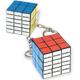 Micro Rubik's Cube Key Holder