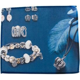 Microfiber and Metal Jewelry Polishing Cloth