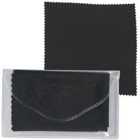 Advertising Microfiber Cleaner Cloth in Pouch