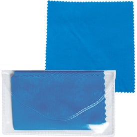 Personalized Microfiber Cleaner Cloth in Pouch