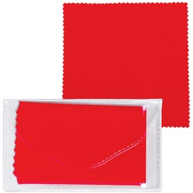Microfiber Cleaner Cloth in Pouch for Your Church