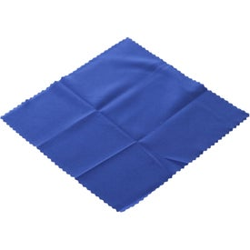 Printed Microfiber Cleaner Cloth in Pouch