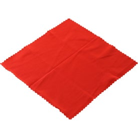 Microfiber Cleaner Cloth in Pouch for Marketing
