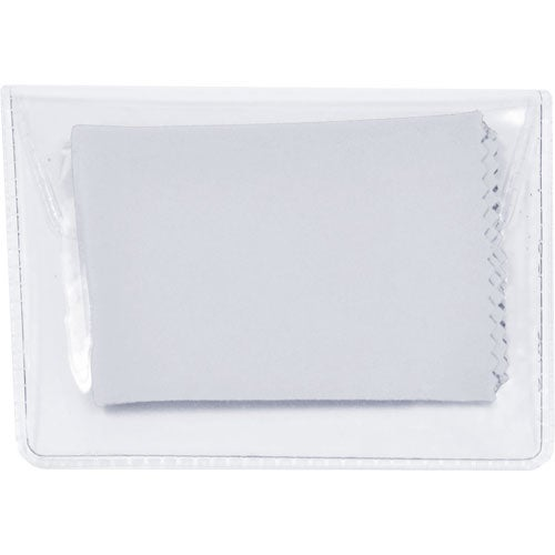 White Microfiber Cleaning Cloth