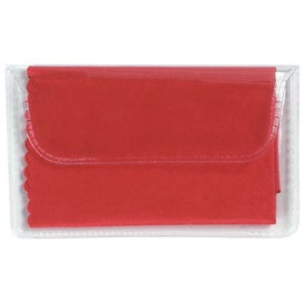 Branded Microfiber Cleaning Cloth In Case
