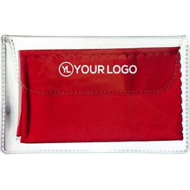 Microfiber Cleaning Cloth In Case with Your Logo